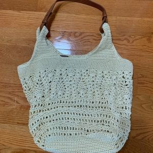 NWOT The Sak crochet hobo bag